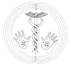 Polarity Therapy Line Drawing