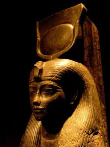 Hathor head